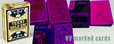 uv marked cards